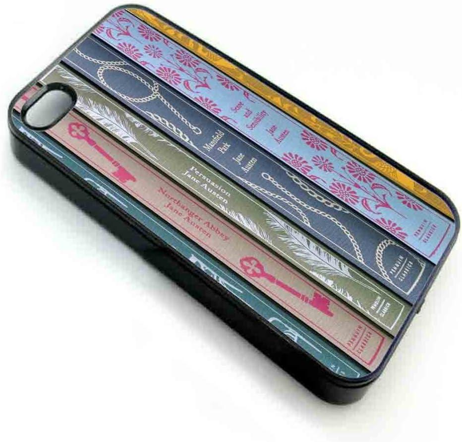 Kristine Avery Jane Austen Books Case Funda iPhone 5/5s Black: Amazon.es: Electrónica