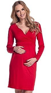 Happy Mama De Las Mujeres Maternidad Enfermería Lápiz Jersey Casual Vestido 285p