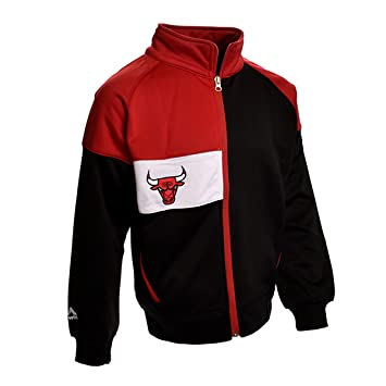 Profile Chicago Bulls Chaqueta de Pista de Bloque de Color (Negro), Negro: Amazon.es: Deportes y aire libre