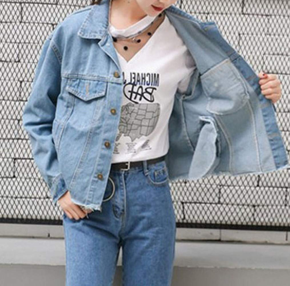 Spring and Autumn Coats Fashion Couples Patch Print Short Jacket Tops Women,Photo color,L DEED