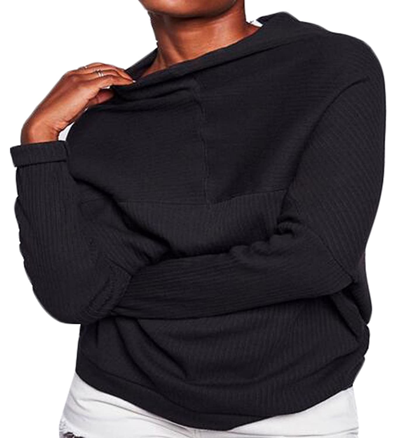 Vska Womens Fashion Causal Cozy Solid Color Kniting Pullover Sweater