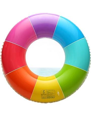 El asiento inflable multicolor del flotador de la piscina del anillo de la natación del PVC