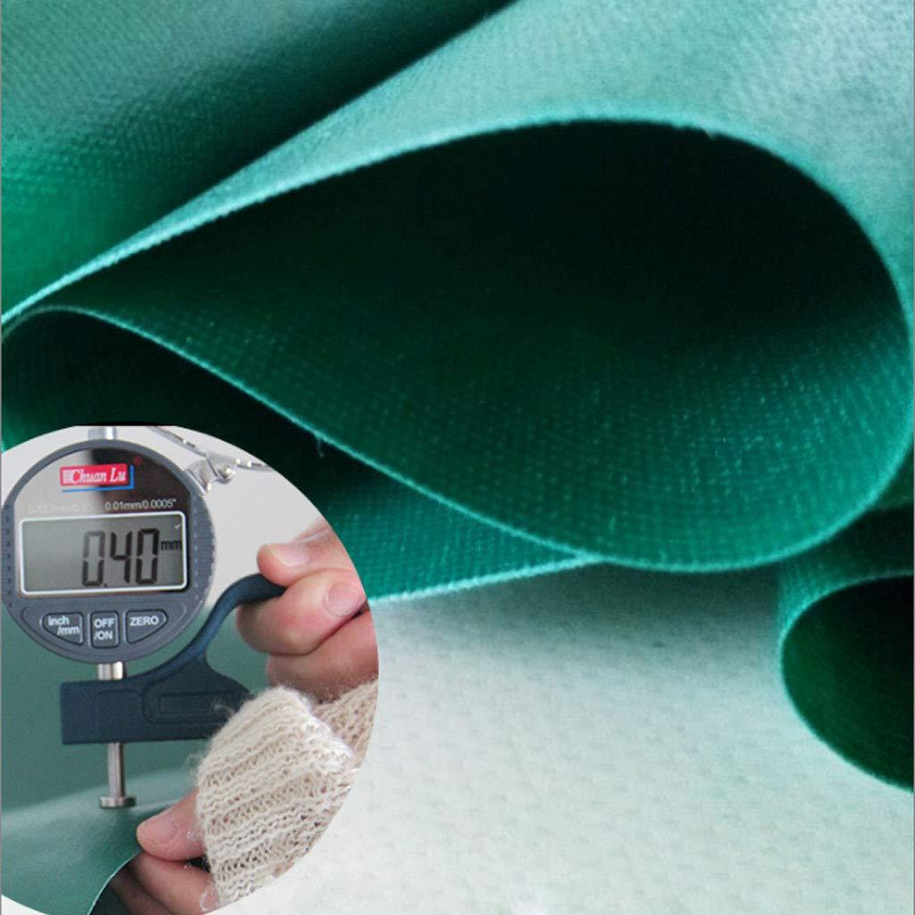Verde Lona del Coche, 8 tama/ños a Elegir de Prenda Impermeable toldo YangMi Lona alquitranada- Lona Gruesa de la Lluvia del PVC Size : 2x2m 450 G // M2
