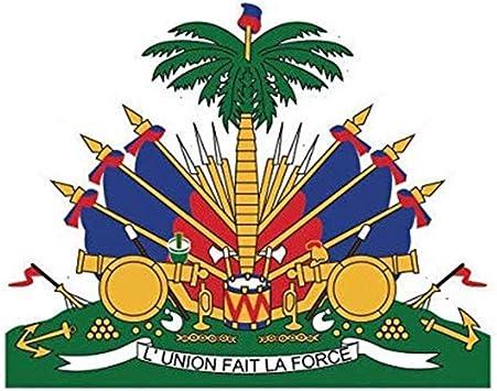 Heraldic Tabard Design Home Decor Haiti Coat Of Arms Wall Tile Art