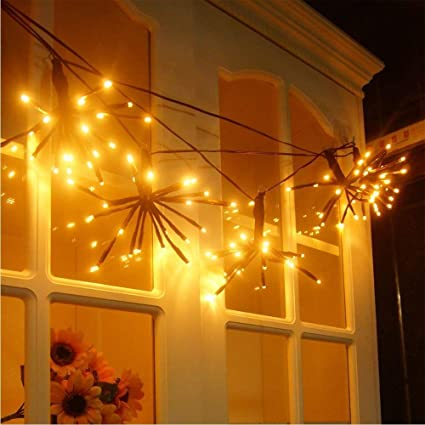Outdoor Fairy Lights Delectable Amazon Flexible LED Branches String Lights Outdoor Fairy Lights