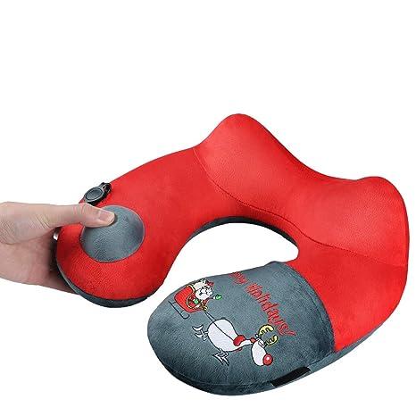 Amazon.com: Regalos de Navidad almohada de viaje, Merry ...