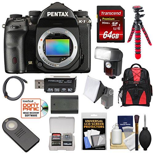 Pentax K-1 Mark II Full Frame Wi-Fi Digital SLR Camera Body