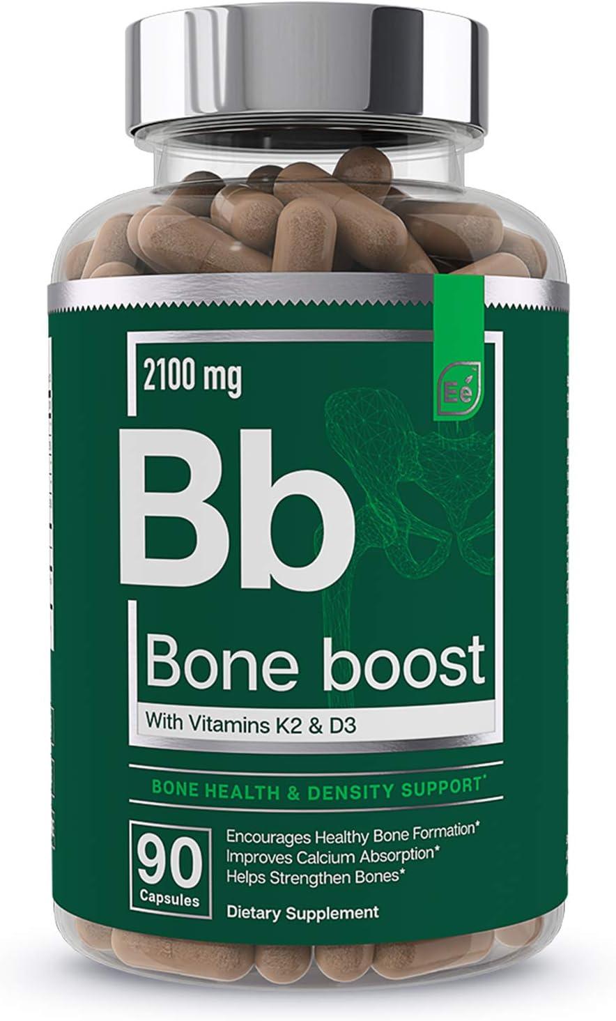 Bone Boost Health free Supplement - K2 Calcium OFFer Vitamin Cis D3