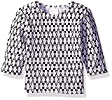 Zutano Baby Printed Thermal Pullover, Square Dance, 18 Months