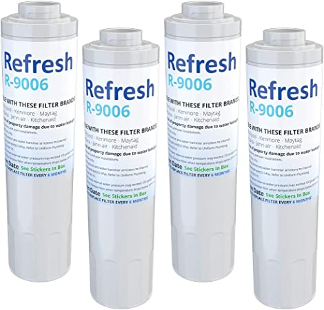 EDR4RXD2 EDR4RXD1B 3 Pack Refrigerator Water Filter Fits whirlpool EDR4RXD1