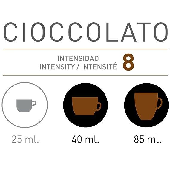 VIAGGIO ESPRESSO - 60 Cápsulas de Café Compatibles con Máquinas Nespresso - CIOCCOLATO: Amazon.es: Alimentación y bebidas