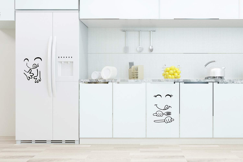 Sticker fridge appliance kitchen deco sweets 60x90cm ref 1385