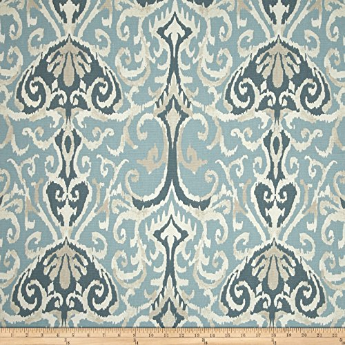 Magnolia Home Fashions Winchester Ikat Spa Fabric By The Yard