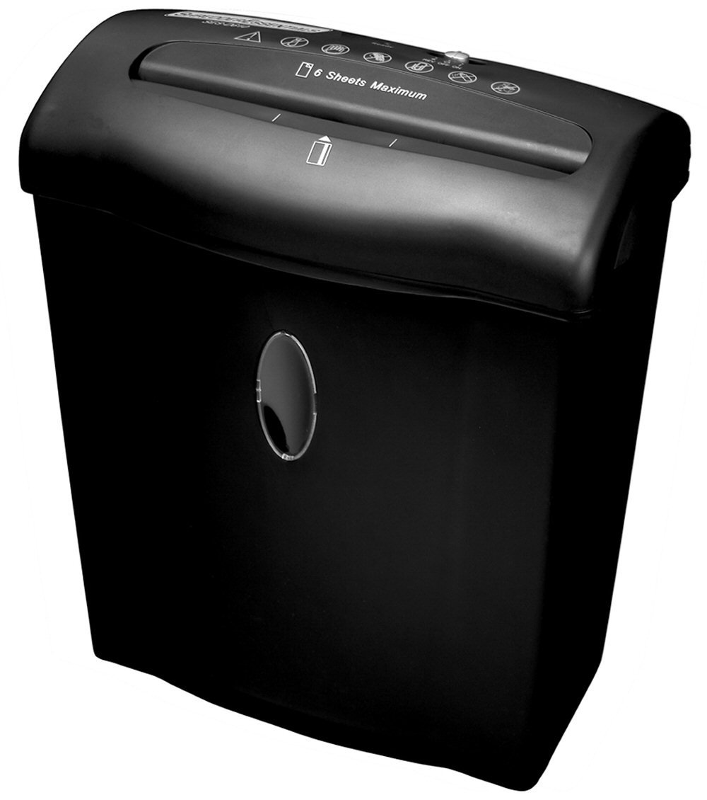 Shredder Essentials 6-Sheet Diamond-Cut Shredder SESD610