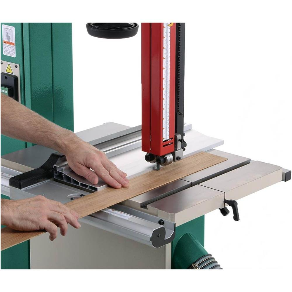 Grizzly G0513X2 Bandsaw with Cast Iron Trunnion, 2 HP, 17-Inch by Grizzly (Image #9)