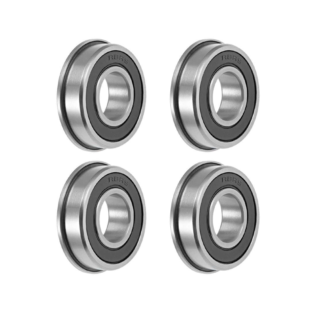"FR8RS FR8-2RS Sealed Flanged Bearing 1//2/"" x 1-1//8/"""