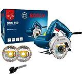Serra Mármore Bosch GDC 150 TITAN 1500W 220V com 2 discos