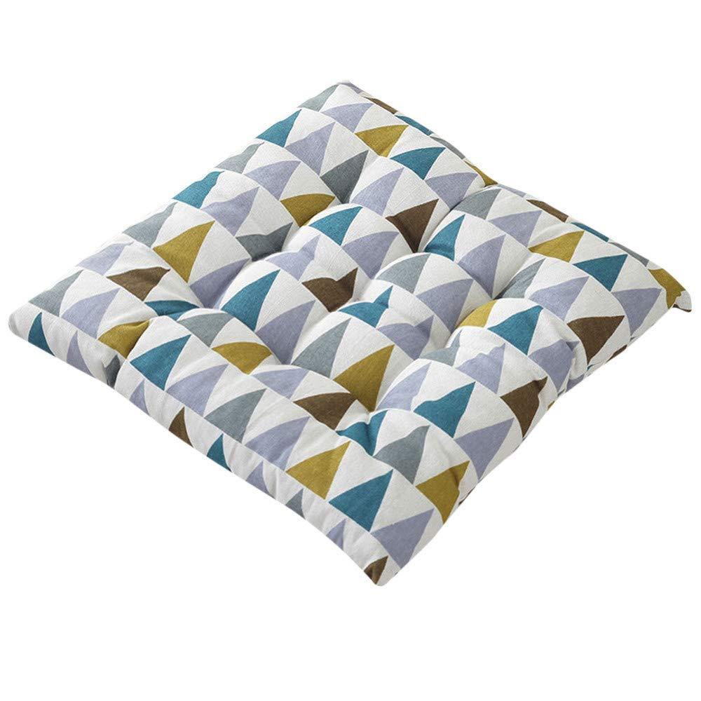 Amazon.com: Alalaso - Cojín cuadrado de algodón para silla ...