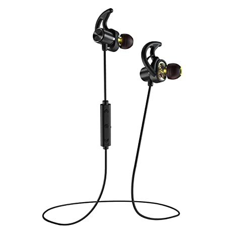 Phaiser BHS-790 Bluetooth Headphones with Dual Graphene Drivers and AptX  Bluetooth 5 0 Sport Headset Earphones with Mic and Lifetime Sweatproof