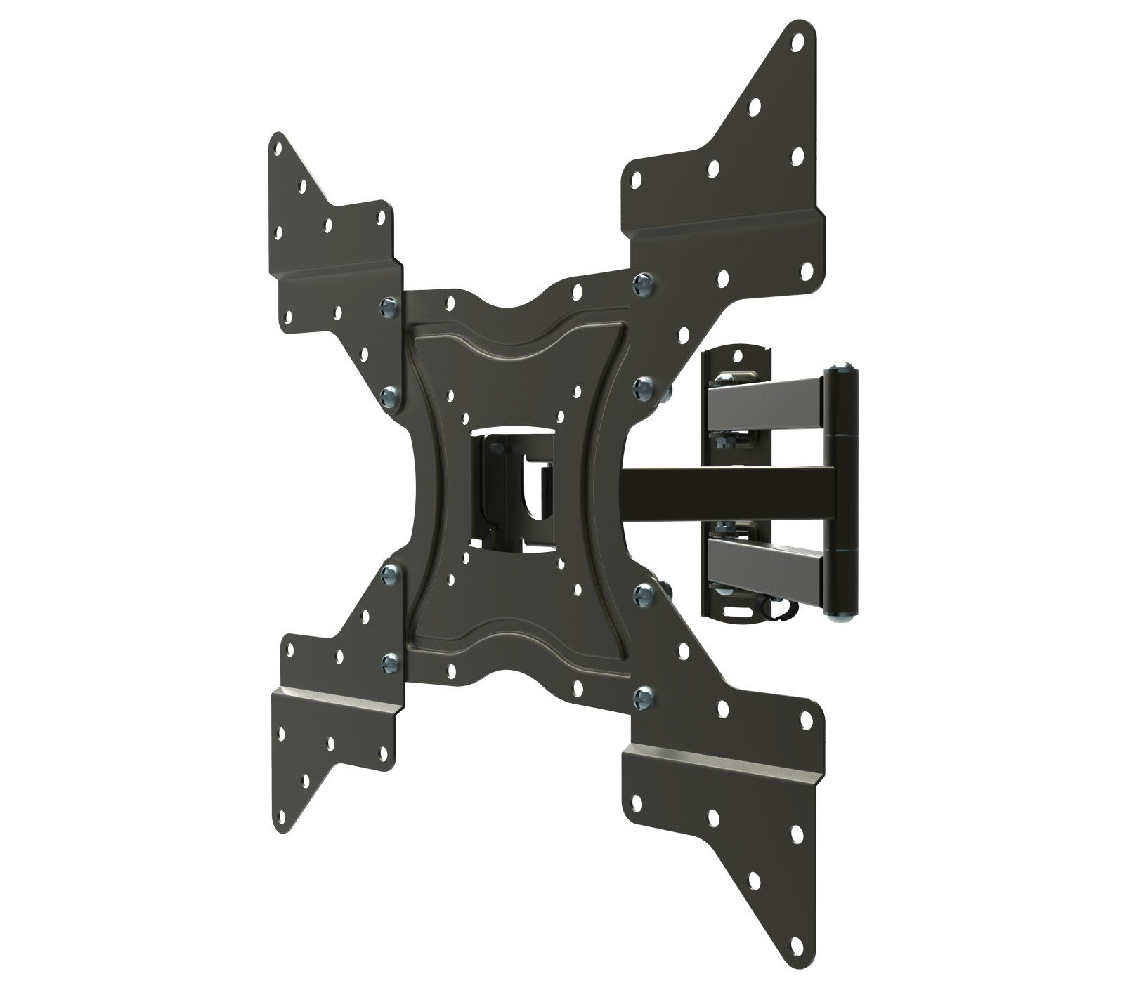 Husky Mounts 4 Universal VESA Adapters from 200x200 to 400X400 Extenders Flat Screen TV Wall Mount Bracket Extensions Allow 200x200(8x8) Plate to Reach VESA 400x400, 400x200, 300x300 up to 16''x 16''
