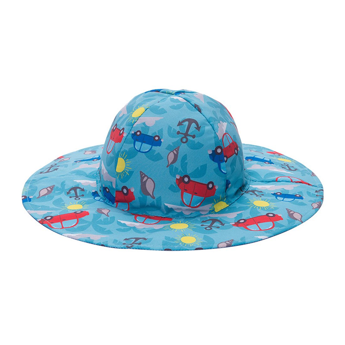 LoveKids Reversible Sun Protection Hat for Girls and Boys(A28007Blue) by LoveKids