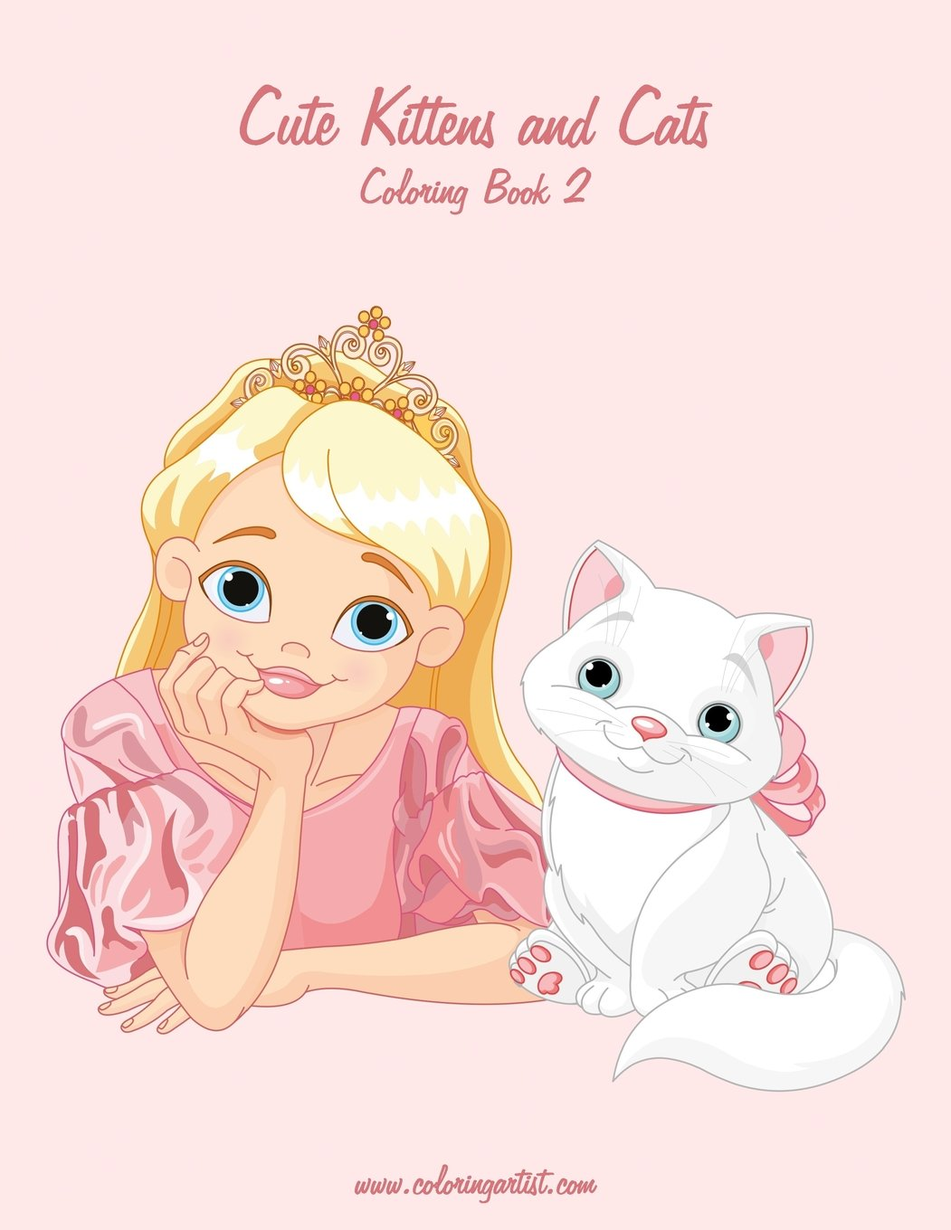 Cute Kittens and Cats Coloring Book 2 (Volume 2) PDF