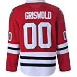 Clark Griswold #00 X-Mas Christmas Vacation Movie Ice Hockey Jersey White