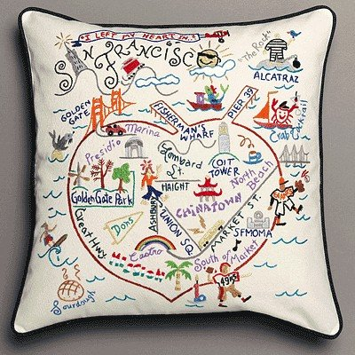 Catstudio San Francisco Pillow by Catstudio