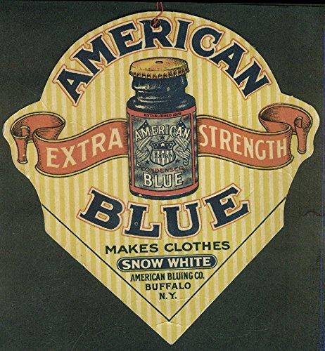 American Blue Makes Clothes Snow White store sign Buffalo NY c1 - Stores Ny Buffalo