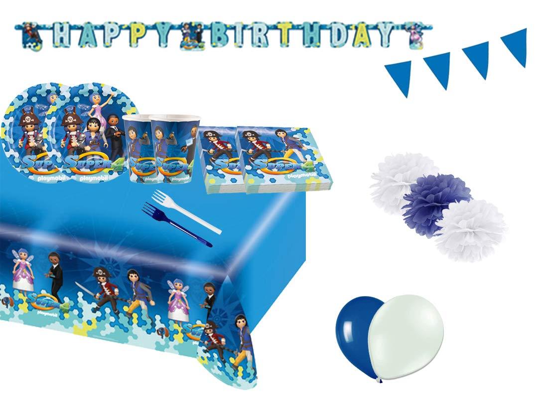 irpot Kit 54 F Fiesta de cumpleaños Playmobil Super 4