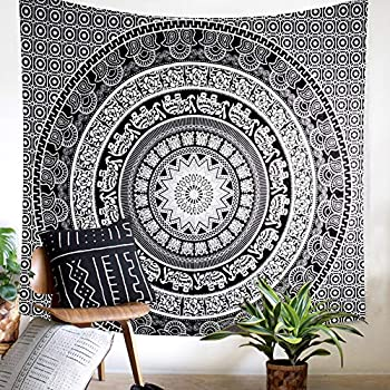 Amazon Com Tc Tanu Collections Black And White Hippie