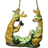 Deer Hunter Rifle Gun Hunting Camp Trophy Picture Camera Christmas Tree Ornament
