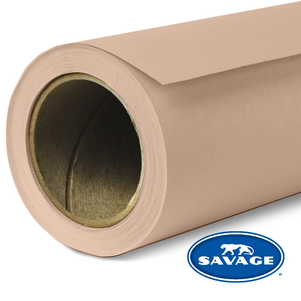 Savage Seamless Background Paper - #53 Pecan (107 in x 36 ft) by Savage