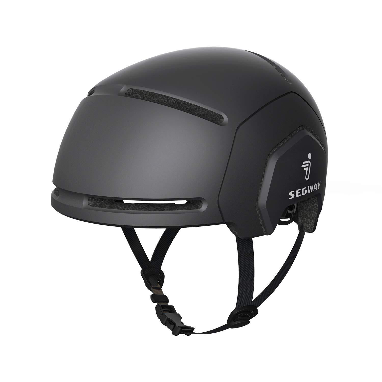 Segway Ninebot Bike Helmet, Black, CE CPSC Certified, L XL