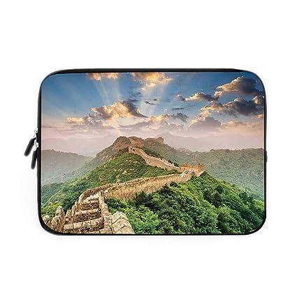fbd36220e829 Amazon.com: Great Wall of China Laptop Sleeve Bag,Neoprene Sleeve ...