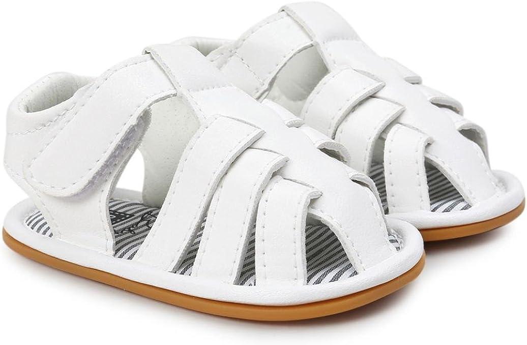 Zapatos Bebe Ni/ño Verano Xinantime Lona Sandalias de Velcro Suela Blanda Zapatos del Antideslizante Zapatos Casuales Sneaker para Reci/én Nacido Ni/ña Ni/ño