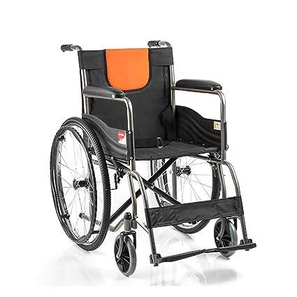 Jia He silla de ruedas Silla de ruedas - Tubo de acero ...