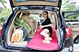 R&R Multifunctional Ultralight Mobile Inflatable Bed Cushion Camp Pad-Perfect Sleeping Pads for Camping, Backpacking, Hiking, Hammocks, Tents,Car,SUV, Travel , pink