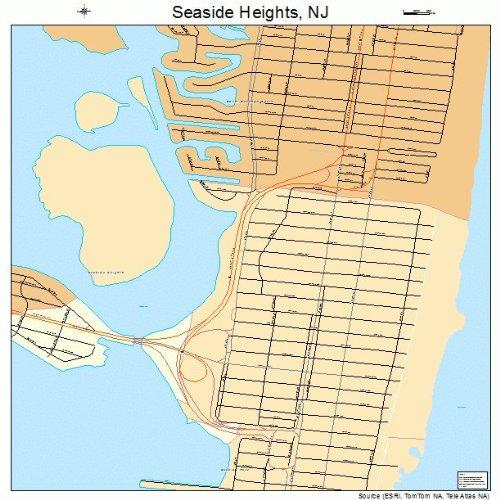 Amazon.com: Large Street & Road Map of Seaside Heights, New ... on redding nj map, pittsburgh nj map, hawthorne nj map, salem nj map, springfield nj map, fairview nj map, washington county nj map, medford nj map, richmond nj map, orange nj map, jersey shore map, newport nj map, new jersey coast map, radburn nj map, crater lake nj map, florence nj map, great falls nj map, avon nj map, nj beach map, spring lake nj map,