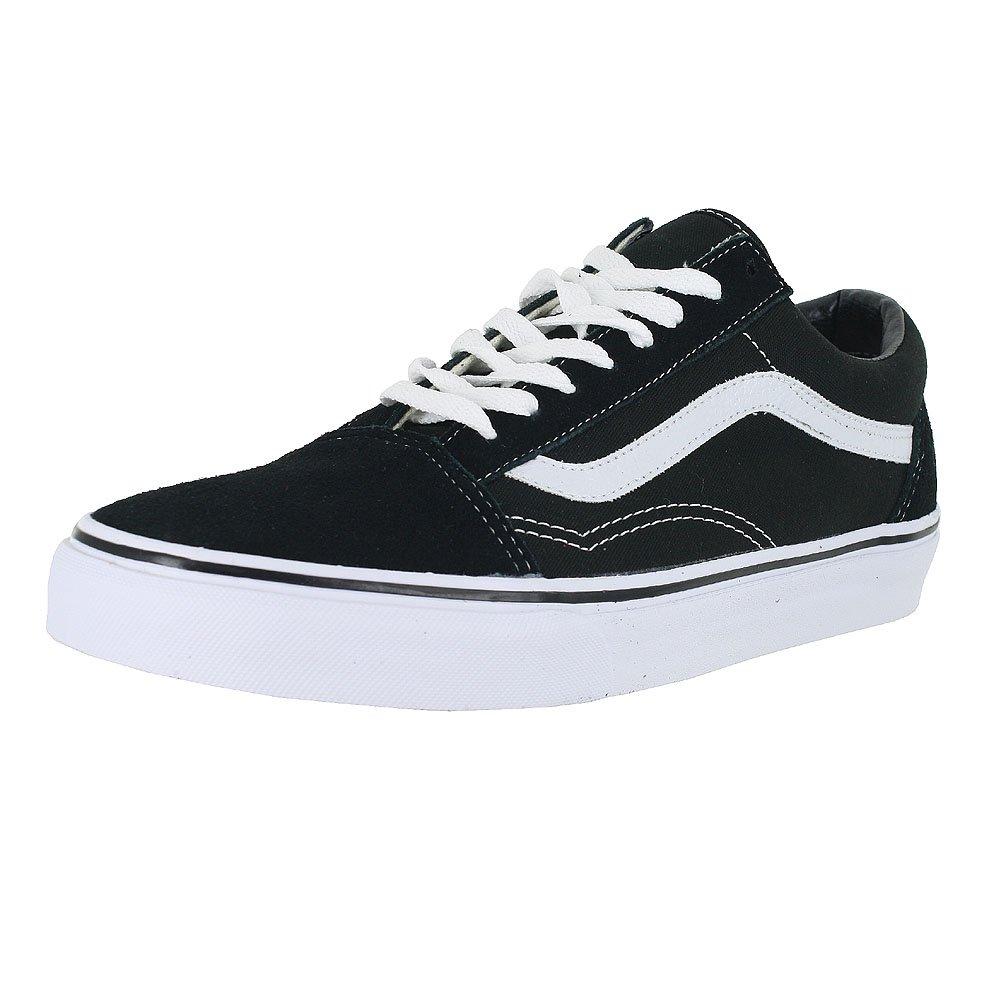 8de2709cc06e54 Galleon - Vans Unisex Old Skool Black White Skate Shoe 9 Men US   10.5 Women  US