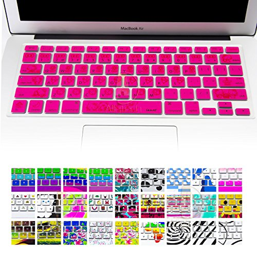 Allytech Keyboard Cover Silicone Skin for MacBook Pro 13