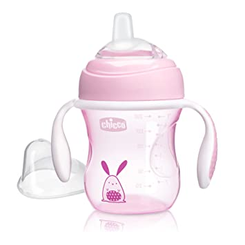 Chicco Natural Fit Transition Cup, 7 oz, Girl 4M+: Amazon ca