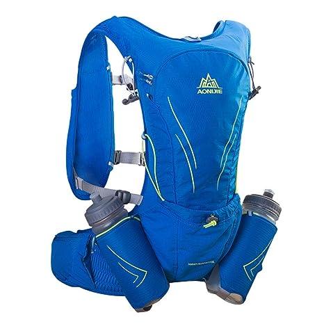 0d1437fe4d Lixada1 AONIJIE Hydration Vest Running Water Pack Vest Marathon Hydration  Backpack Extra Water Bottle Emergency Blanket