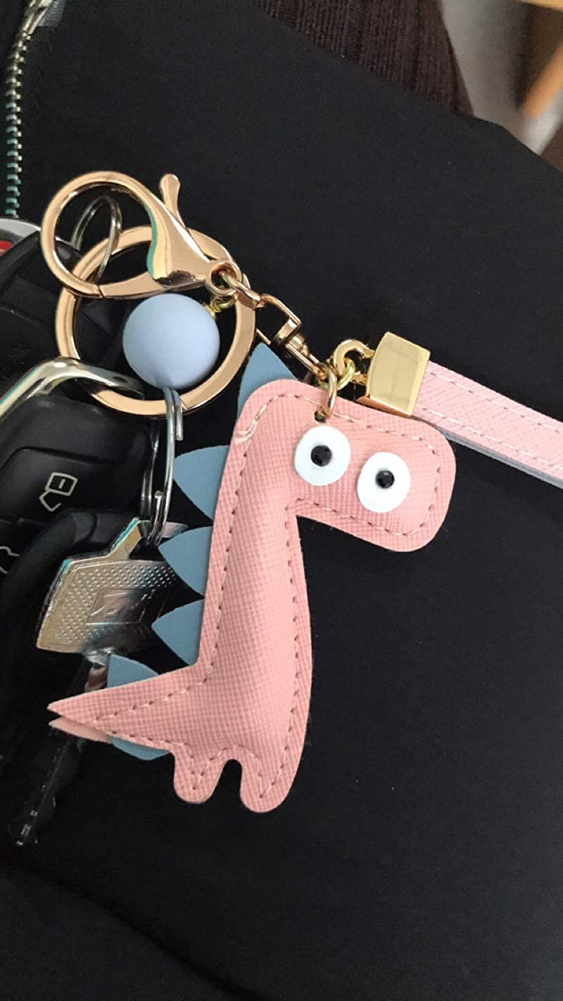 MUAMAX Dinosaur Key Chains for Women Girl Girlfriend,Bag charm,Keychain for Car Keys,Gift for Her