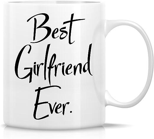A114 Best Girl Friend Ever Coffee Funny 11oz Ceramic Mug Gift Friend Love Heart