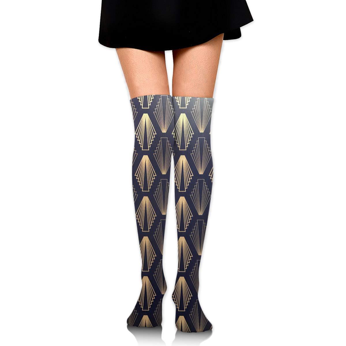 High Elasticity Girl Cotton Knee High Socks Uniform Shape Women Tube Socks