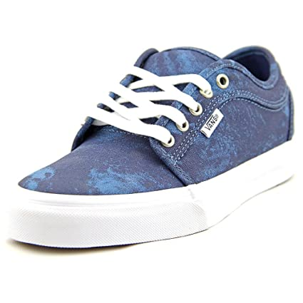 b6872f383fec Amazon.com: Vans Chukka Low Men US 7 Blue Skate Shoe: Sports & Outdoors