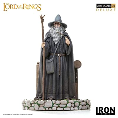 Iron Studios Lord of The Rings Gandalf Deluxe Art Statue: Toys & Games