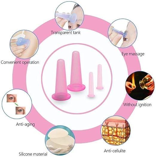 Ventosa celulitis silicona, silicona para el masaje de la ...