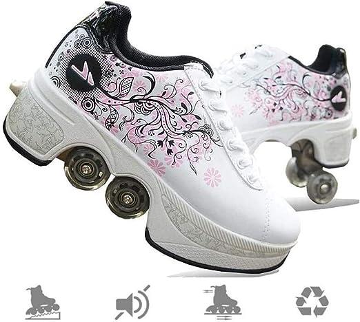 MLyzhe Deformation Roller Shoes Skate